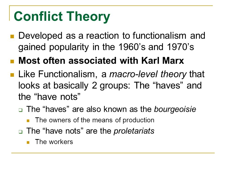 macro level theory