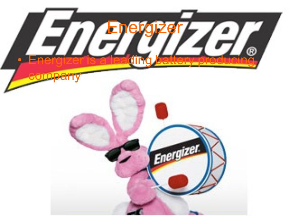 Energizer Energizer is a leading battery producing company