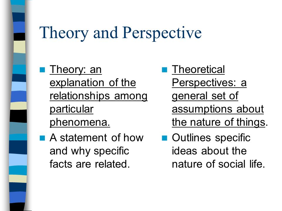 Theory and Perspective