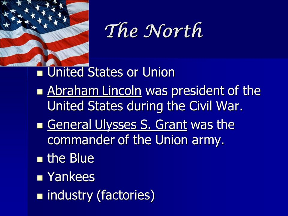 The North United States or Union