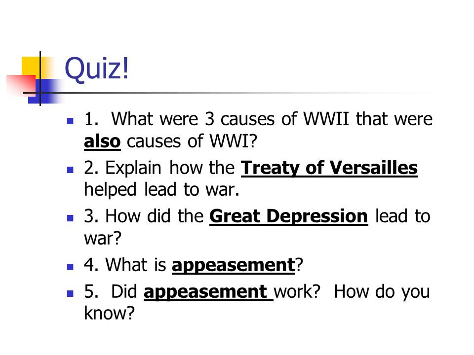 how did appeasement lead to ww2
