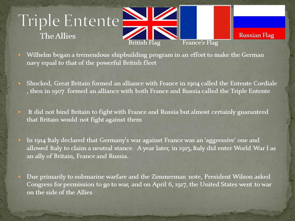 Alliances and Rivalries of World War I - ppt video online