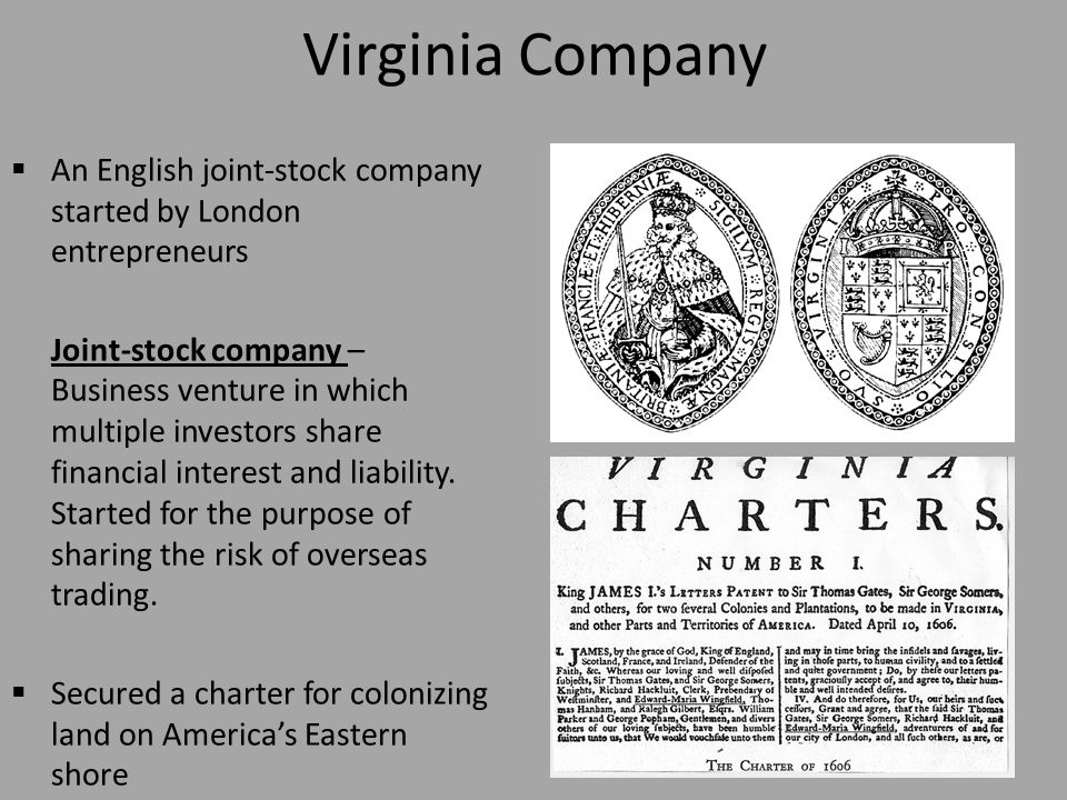 virginia stock company