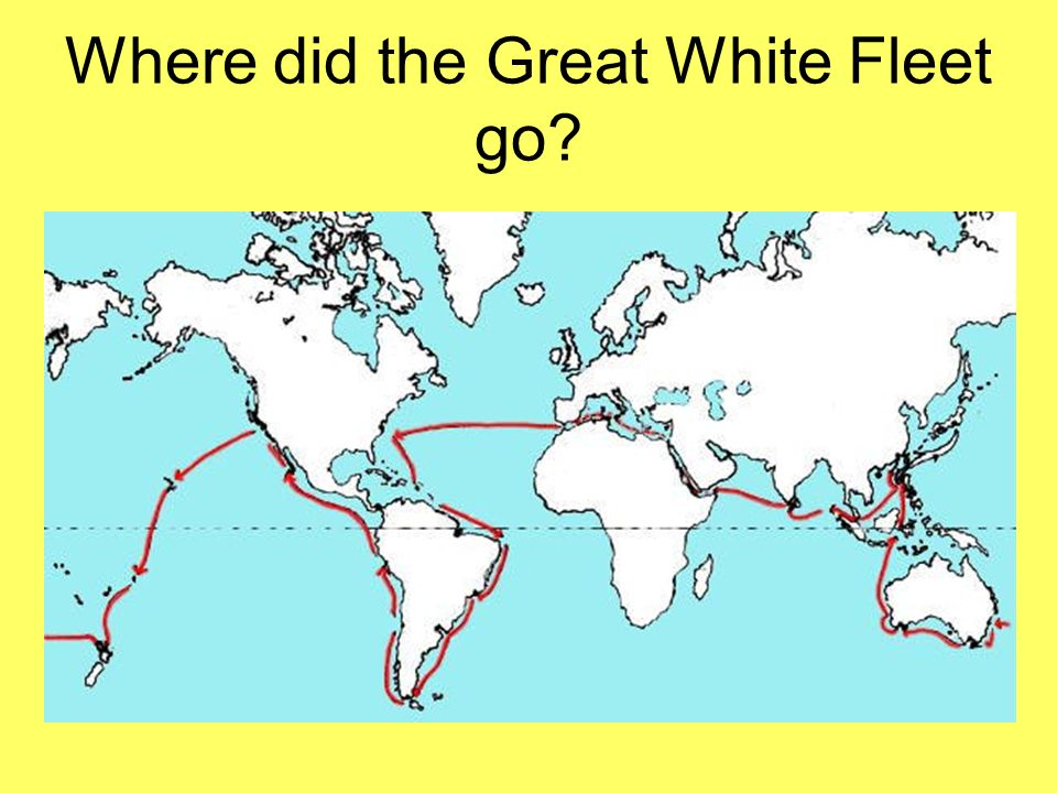 Where did the Great White Fleet go