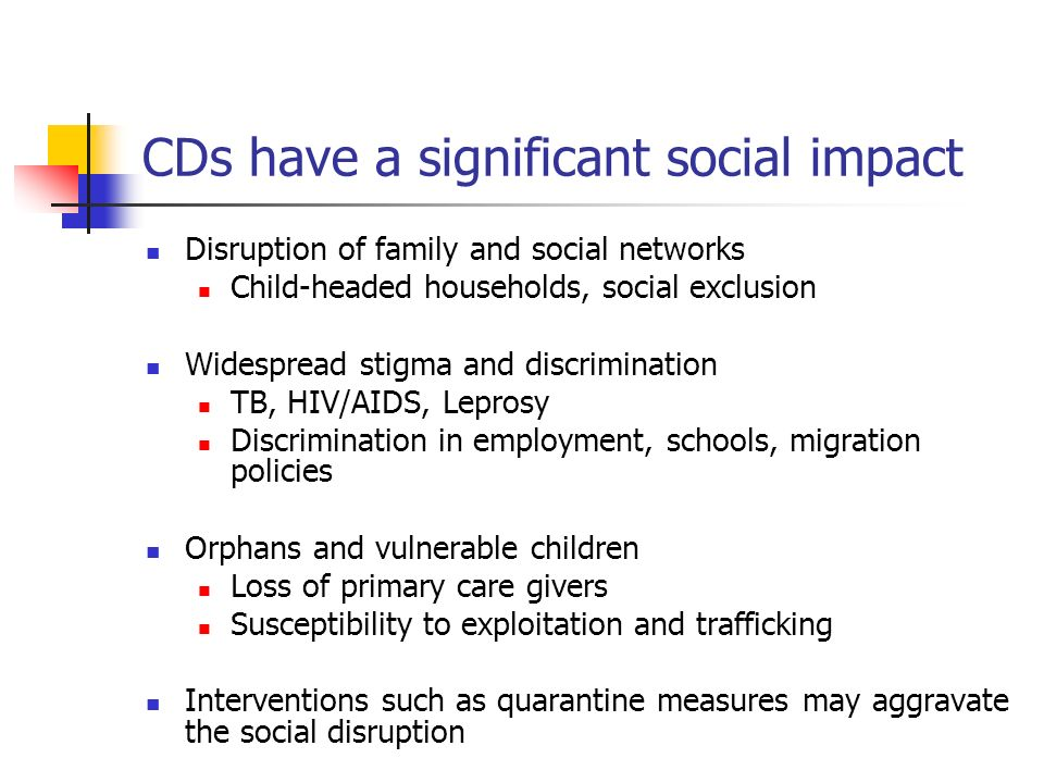 CDs have a significant social impact