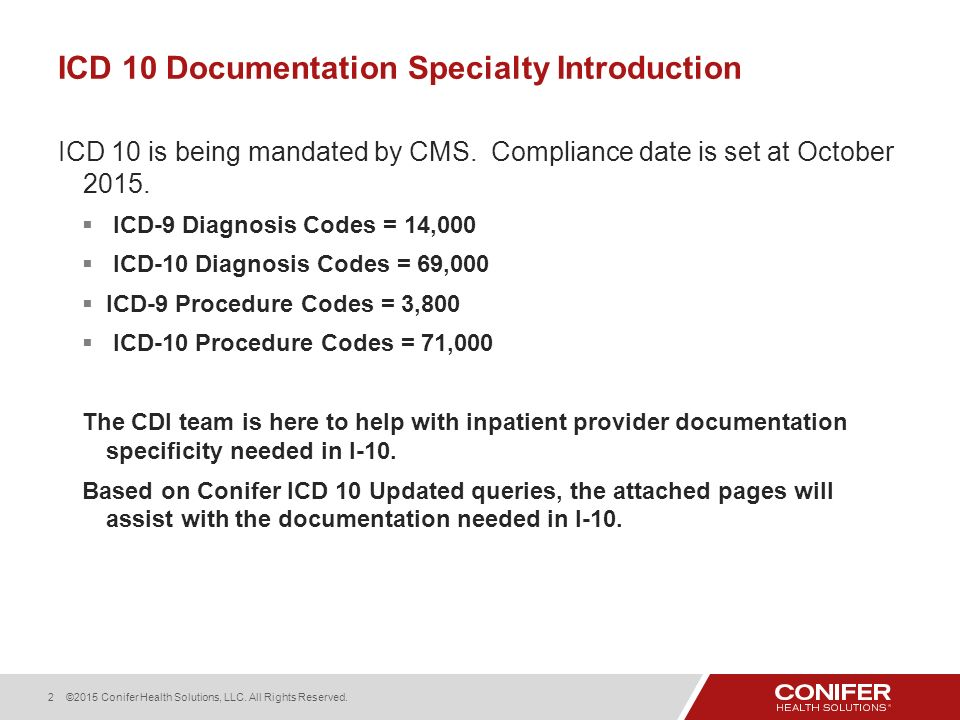 Icd 10 Documentation Specialty Introduction Ppt Download