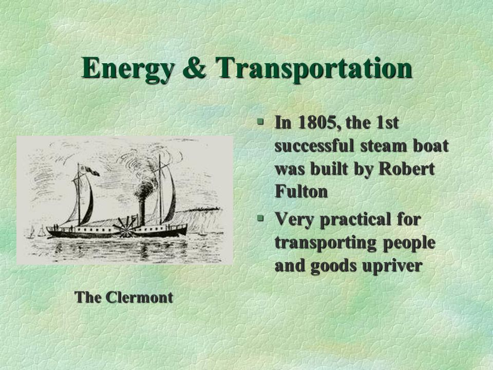 Energy & Transportation