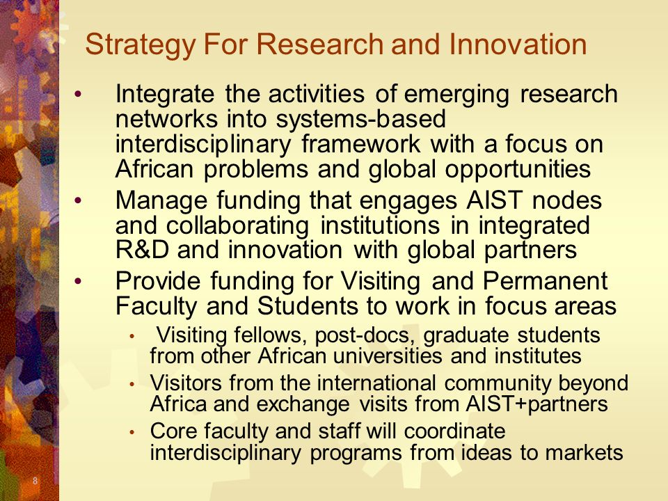 Strategy For Research and Innovation