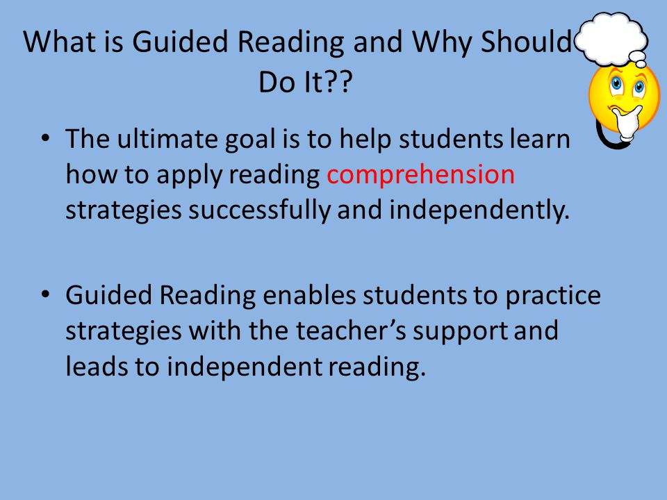 Harnessing the power of guided reading ppt video online download.