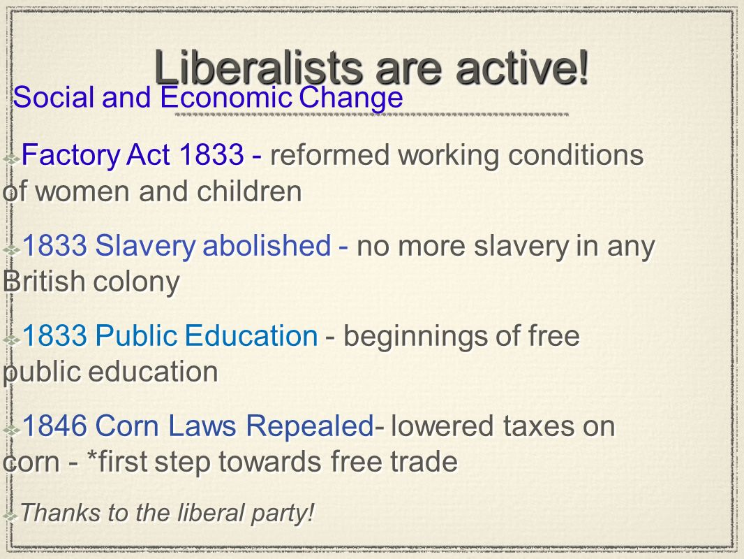 Liberalists are active!
