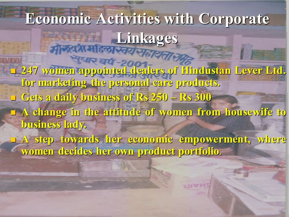 Economic Activities with Corporate Linkages