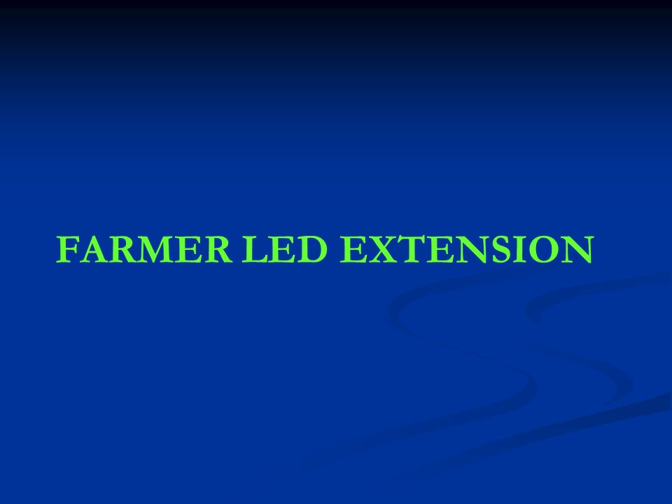 FARMER LED EXTENSION