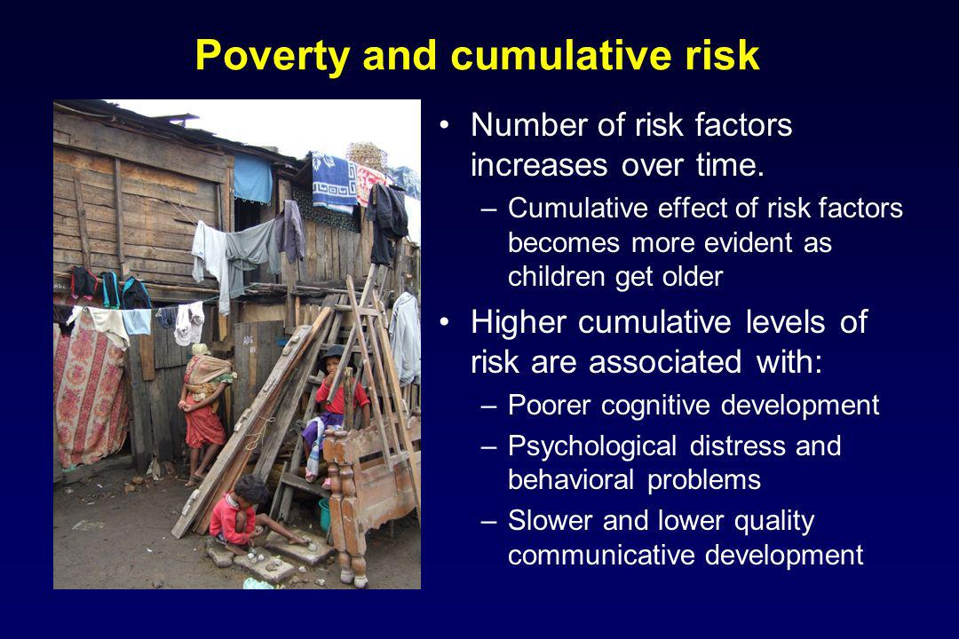 Poverty and cumulative risk