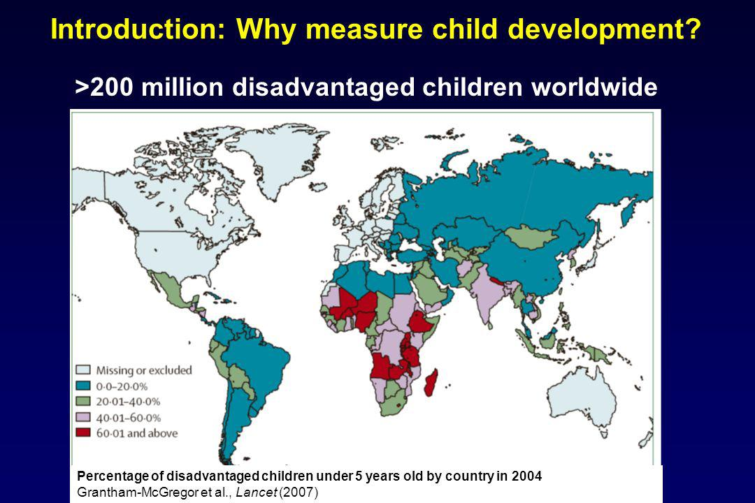 Introduction: Why measure child development
