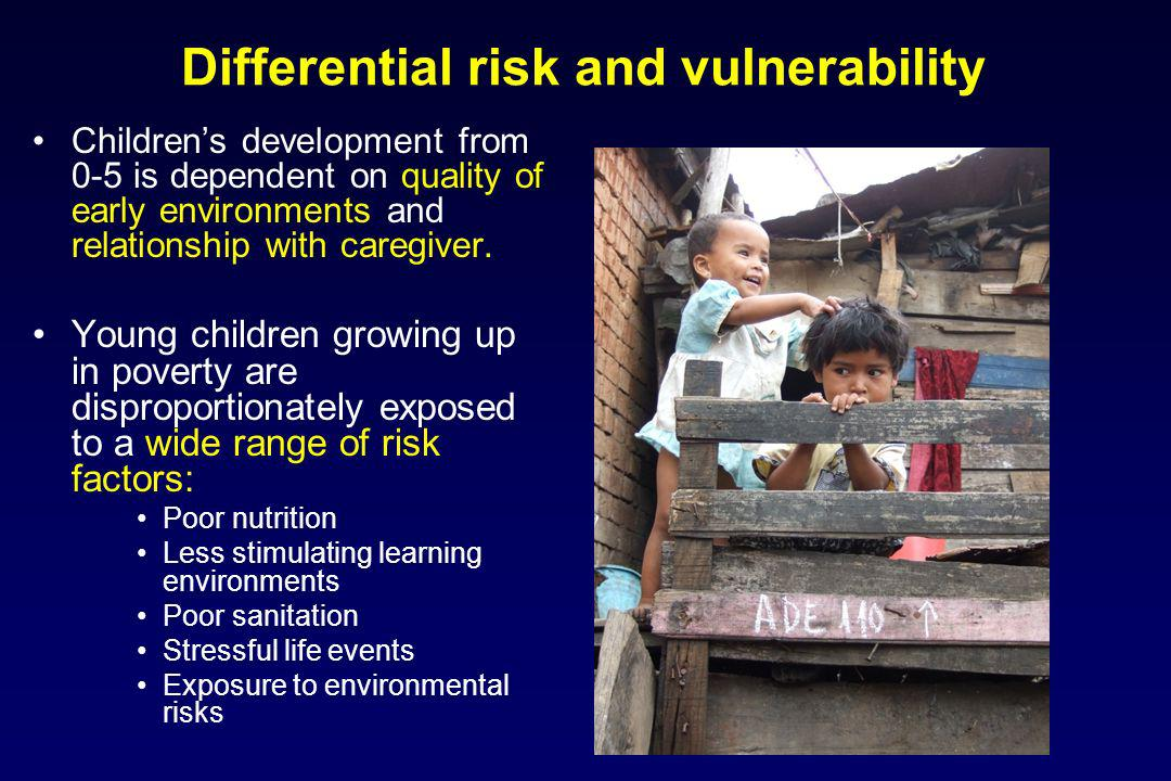 Differential risk and vulnerability