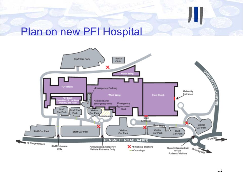Plan on new PFI Hospital