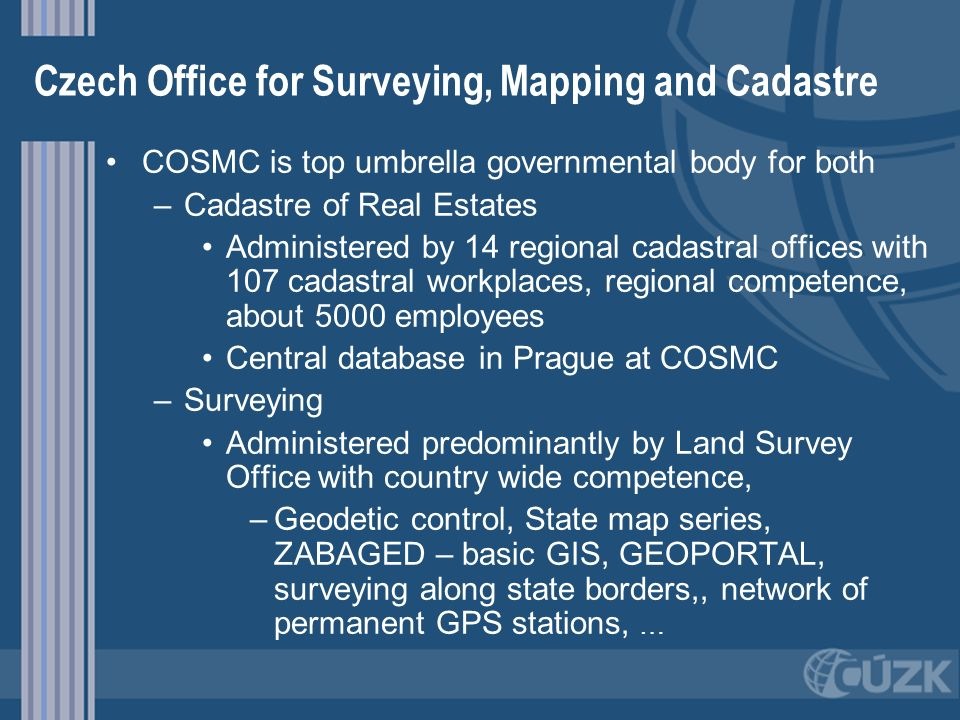 Czech Office for Surveying, Mapping and Cadastre