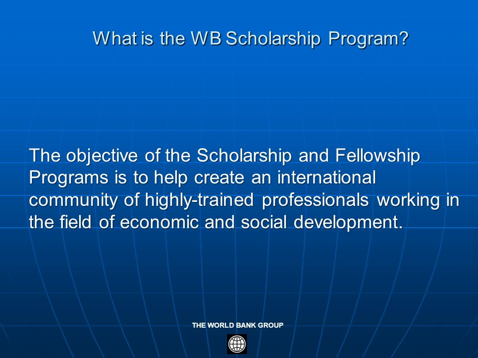 What is the WB Scholarship Program