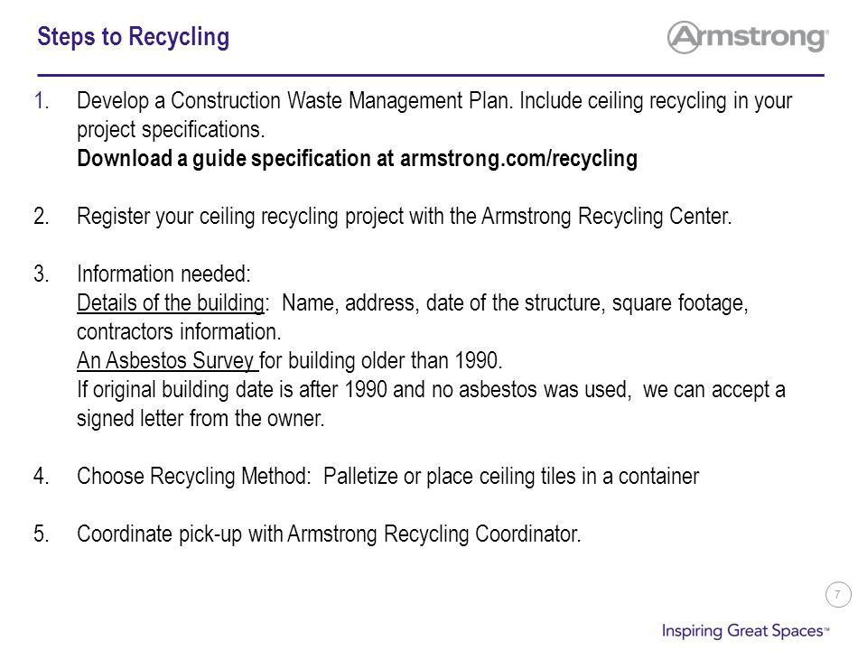 Ceiling Tile Recycling Blog Avie
