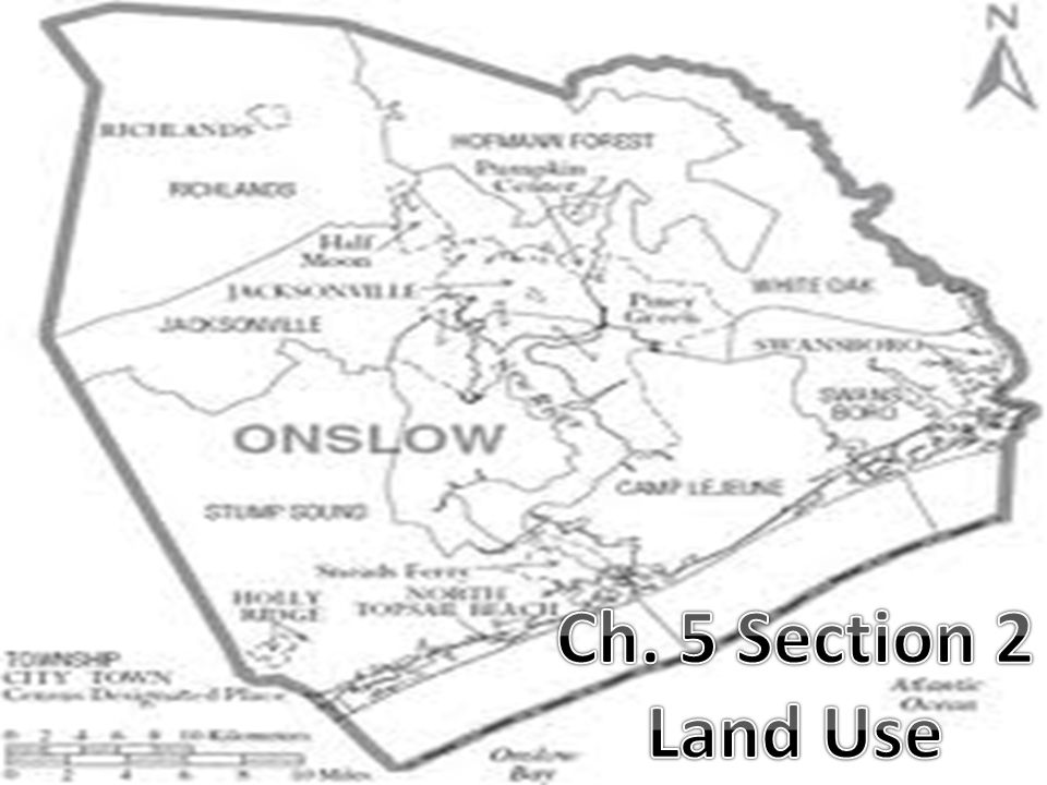 Ch. 5 Section 2 Land Use