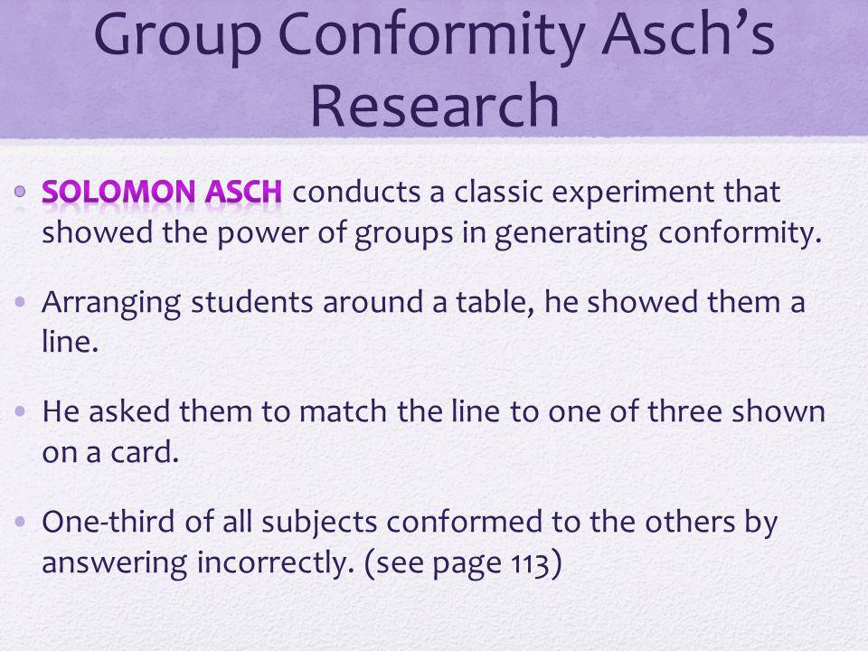 solomon asch conformity experiment pdf
