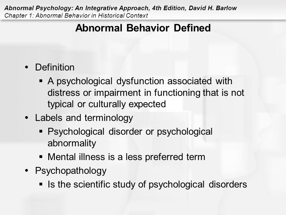 abnormal psychology the human experience of psychological disorders study guide
