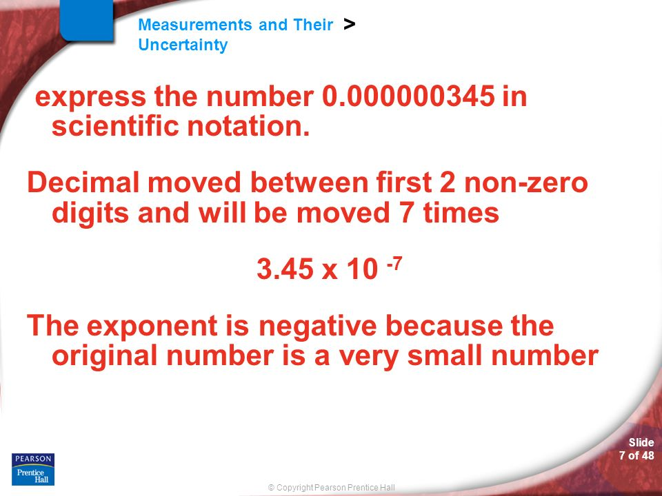 express the number in scientific notation