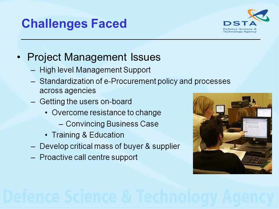 Challenges Faced Project Management Issues