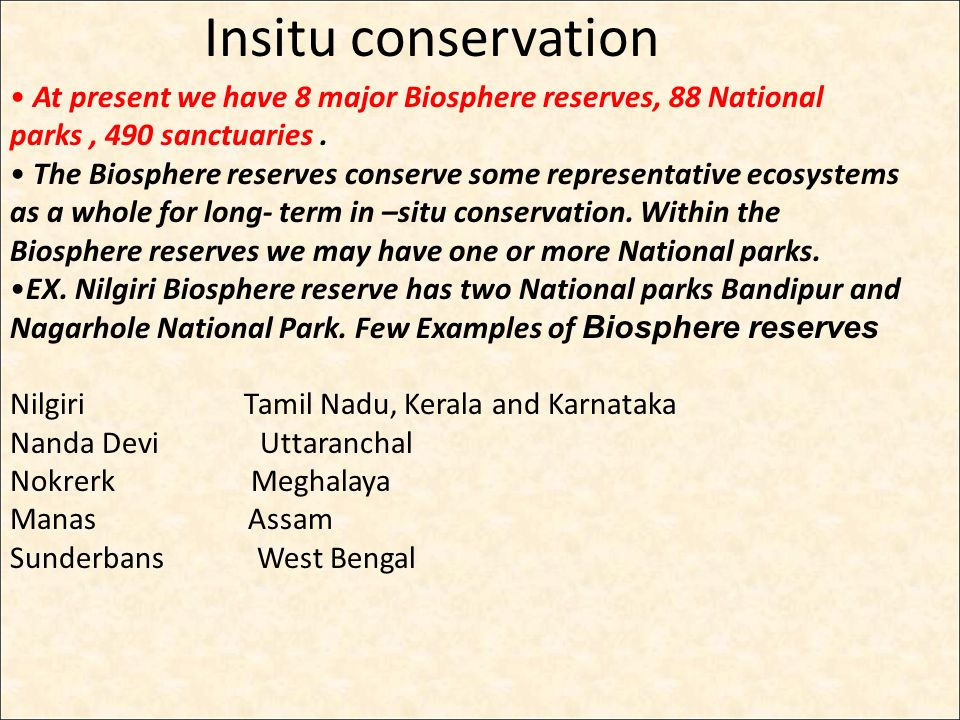 biosphere reserves meaning