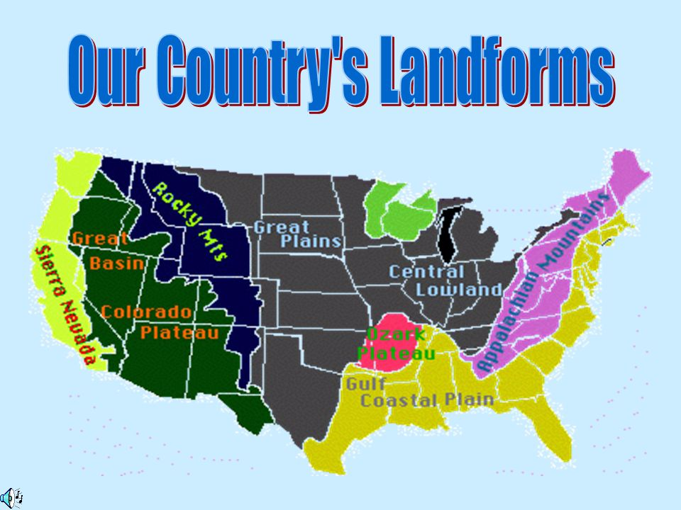 Our Country s Landforms