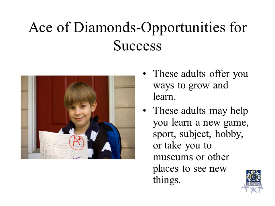 Ace of Diamonds-Opportunities for Success