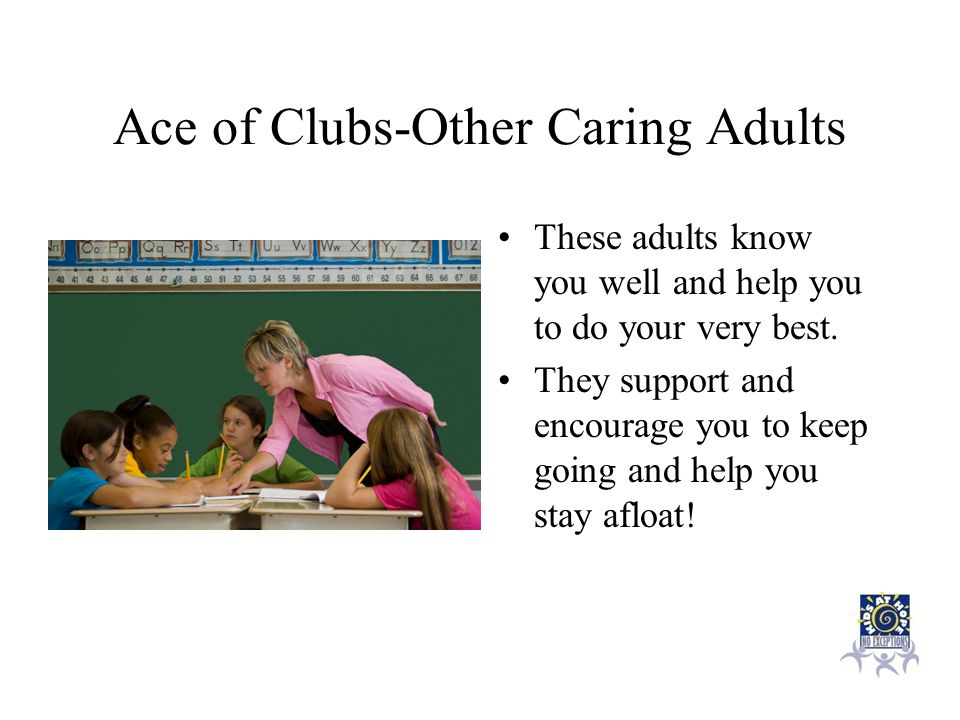 Ace of Clubs-Other Caring Adults