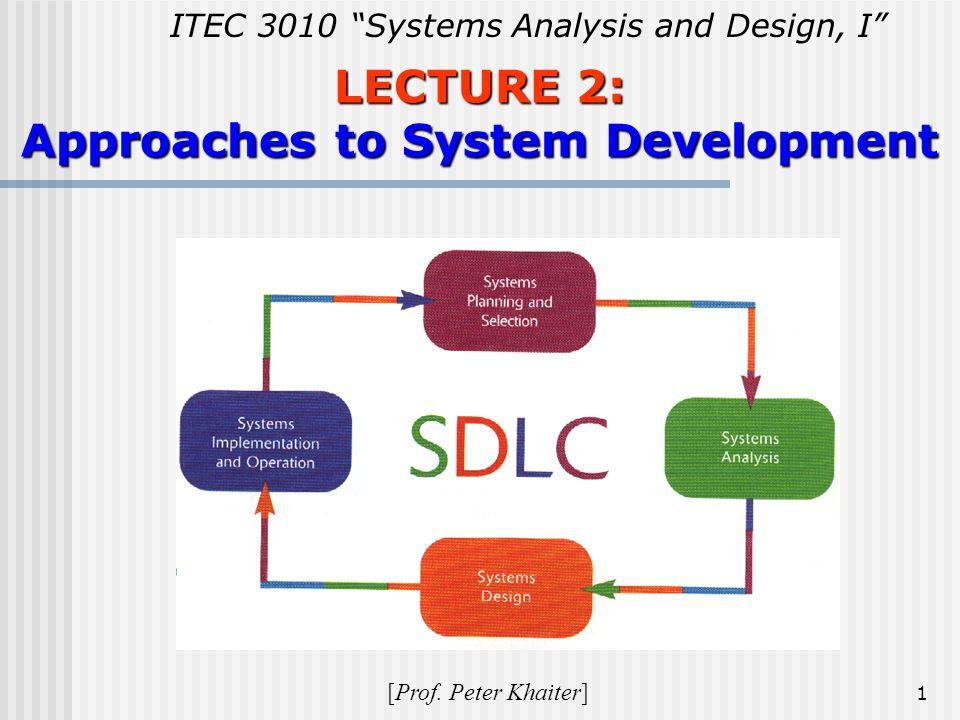 sdlc approach