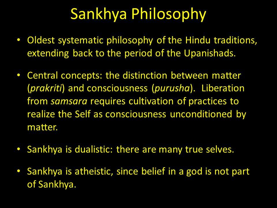 sankhya philosophy