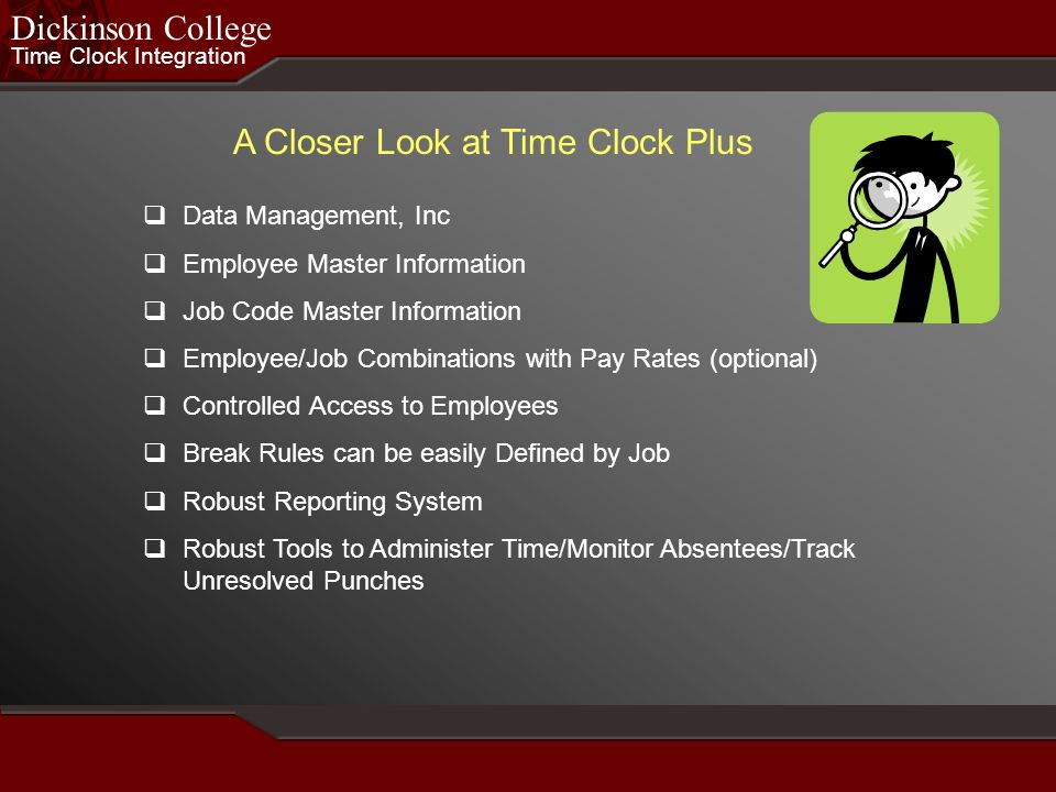A Closer Look at Time Clock Plus