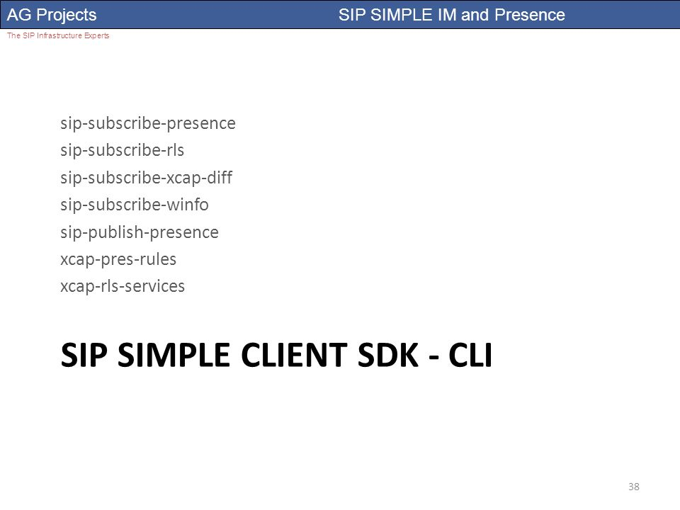 Presence and IM using sip - ppt video online download