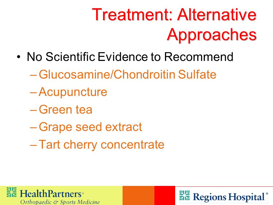 Treatment: Alternative Approaches