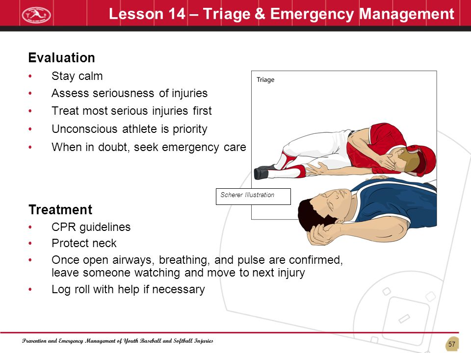 Lesson 14 – Triage & Emergency Management
