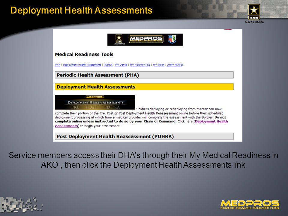 army pha online Army Reserve DHAP Leadership Conference - ppt video online download
