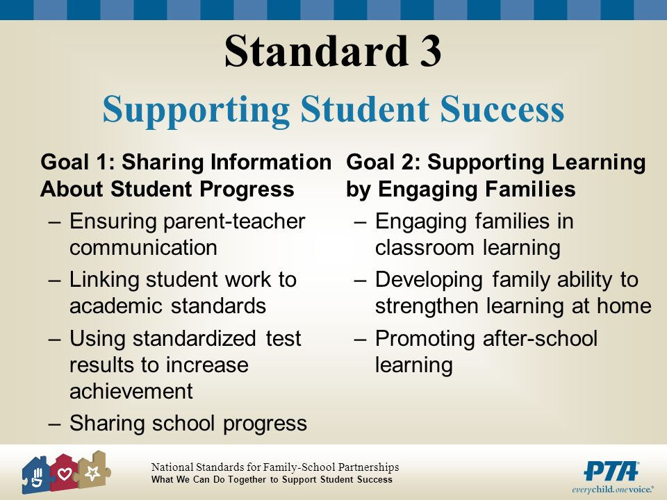 Standard 3 Supporting Student Success