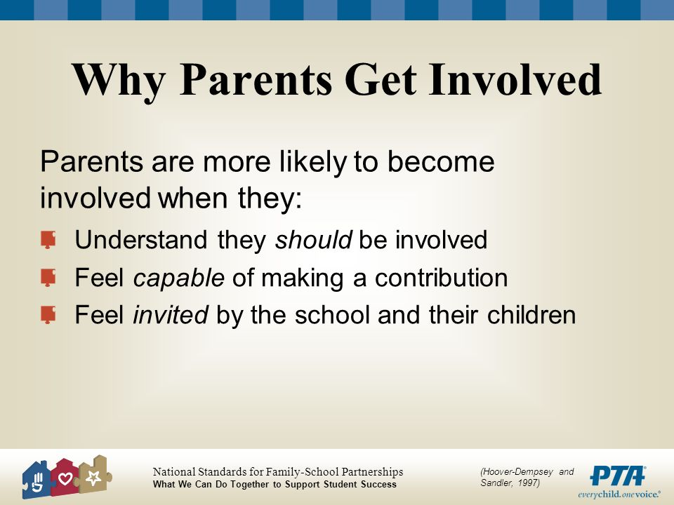 Why Parents Get Involved