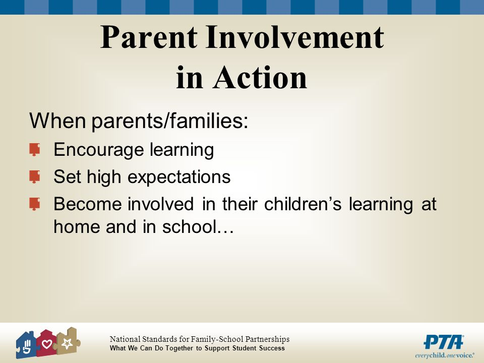 Parent Involvement in Action