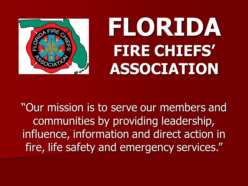 FLORIDA FIRE CHIEFS' ASSOCIATION