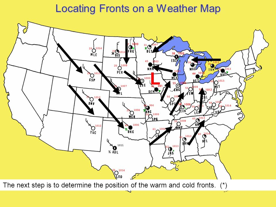 Cold Front On Weather Map.The Weather Makers Of The Mid Latitudes Ppt Video Online Download