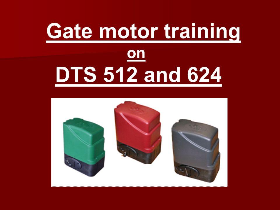 Dts gate motor manual.
