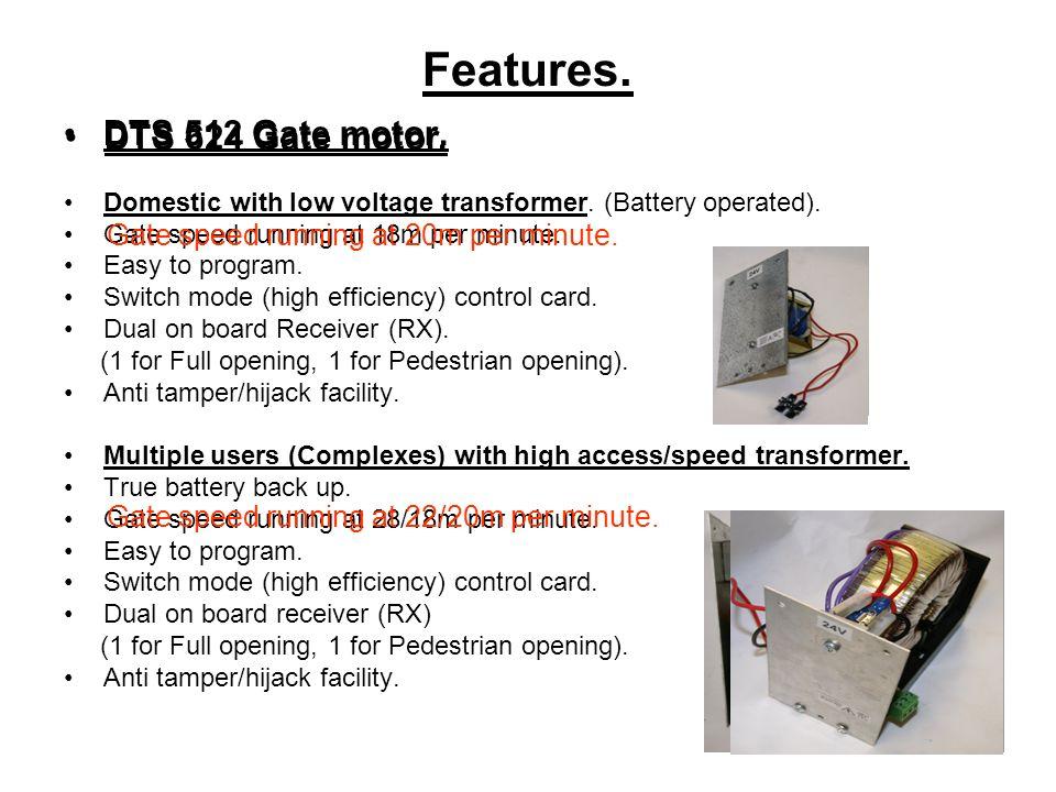 Sliding gate motor installation manual dts 600 elite.