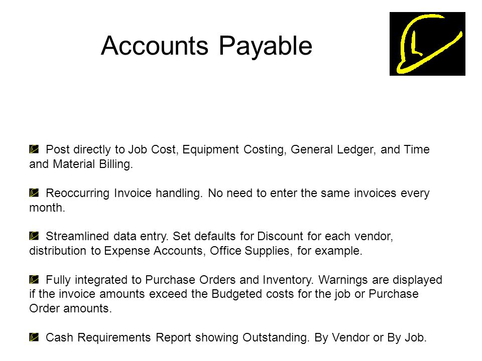 Hardhat Job Cost Accounting Software Ppt Video Online Download