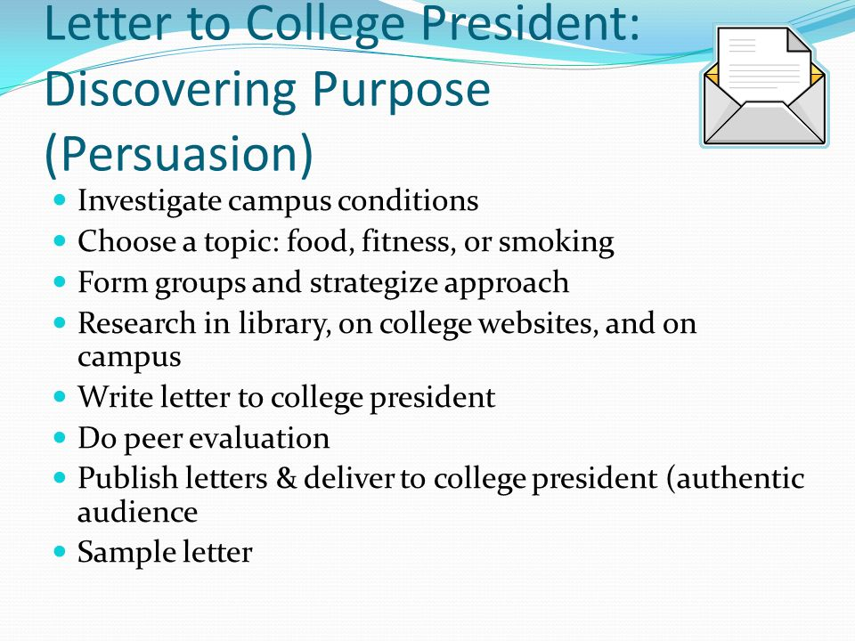The writer as detective ppt video online download 13 letter to college president spiritdancerdesigns Gallery