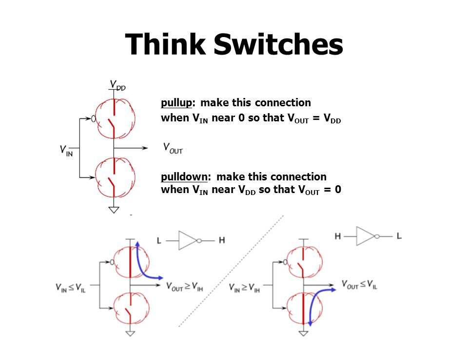 Think Switches pullup: make this connection