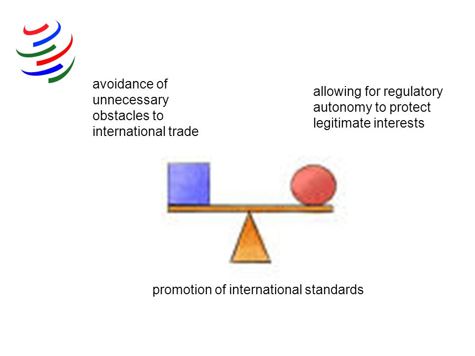 avoidance of unnecessary obstacles to international trade